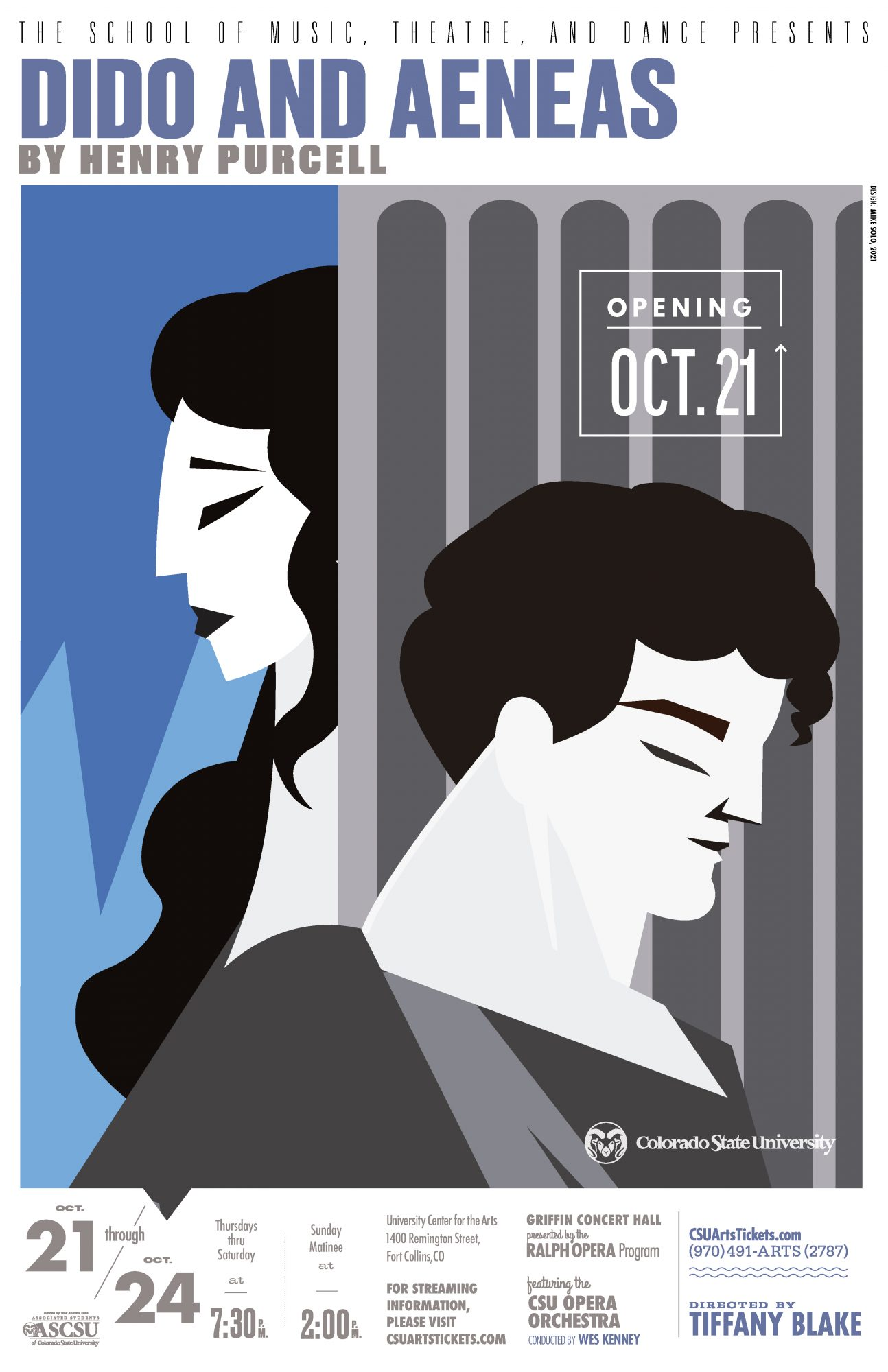 Opera: <em>Dido and Aeneas</em> by Henry Purcell